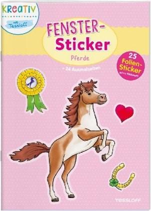 Fenster-Sticker Pferde
