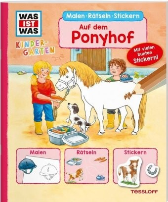 Was ist was Kindergarten: Auf dem Ponyhof