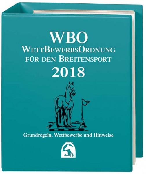 Wettbewerbsordnung (WBO) 2018 – mit Ordner
