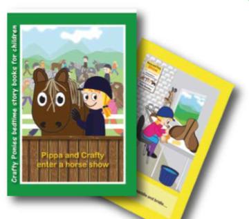 Crafty Ponies Story Buch