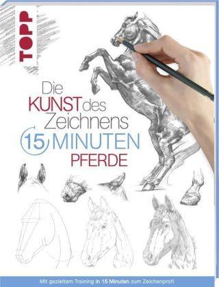 Die Kunst des Zeichnens 15 Minuten – Pferde