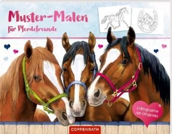 Muster-Malen für Pferdefreunde