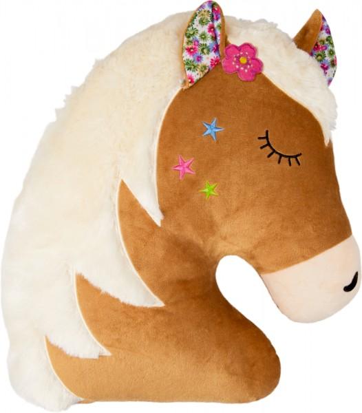 Kissen Pferdekopf
